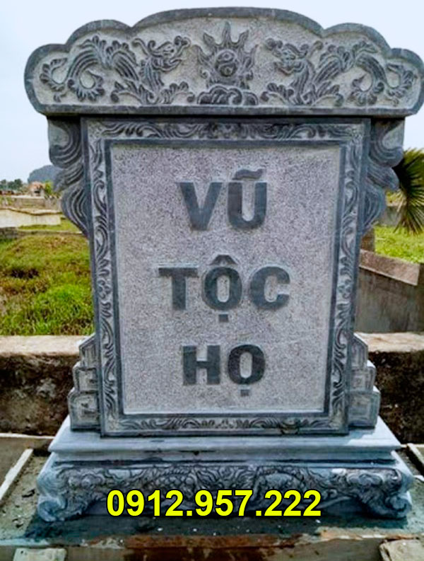 Mẫu bia mộ bằng đá đẹp nhất của Đá mỹ nghệ Thái Vinh