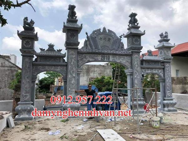 Mẫu cổng đình làng đẹp tại Hà Nội - CD01, Cổng làng tại hà Nội, Cổng đình tại hà Nội, Cổng ,