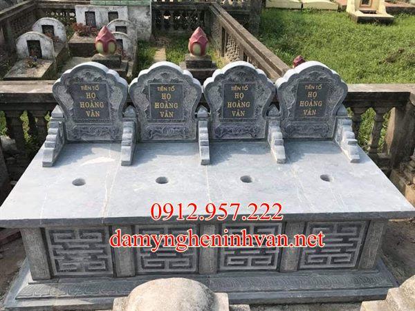 Mẫu mộ ba người làm bằng đá tại Hải Phòng, mộ đôi hải Phòng , Mộ đá Hải phòng