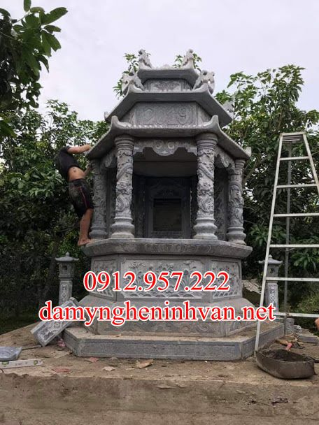 Mẫu mộ lục giác đá đẹp quảng Ninh, Mẫu mộ Lục GIác Quảng Ninh