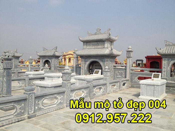 10 mẫu mộ tổ bằng đá xanh tự nhiên đẹp nhất tại Ninh Vân Ninh Bình