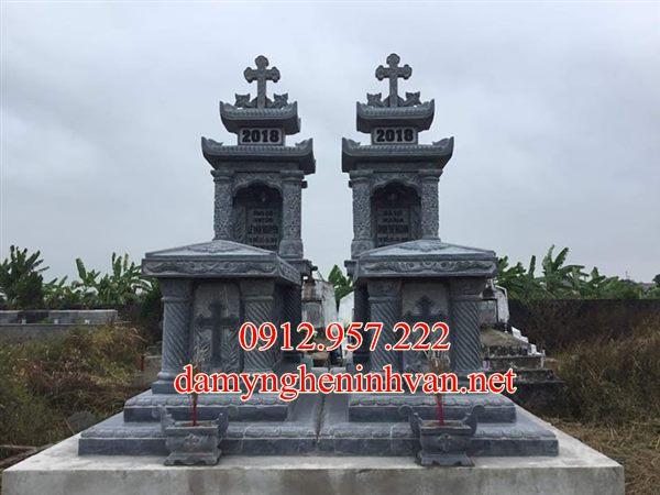 Mộ đá công giáo đẹp bán tại Hải Phong, Mộ công giáo đẹp hải Phòng,