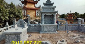 Tìm hiểu về lịch sử mộ đá và kích thước mộ xây chuẩn phong thủy