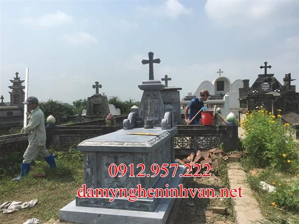Xây mộ công giáo đá đẹp Nam Định -mcgnd, Mộ công giáo Nam Định