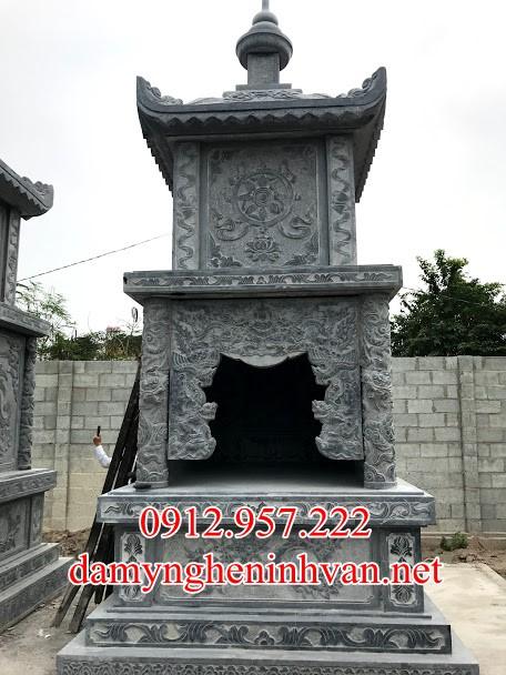Xây mộ tháp đá nhà phật đẹp Nam Định, Mộ tháp đá Nam Định