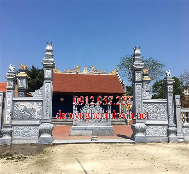 Cổng đá đẹp Bắc Ninh – Xây cổng đình bằng đá tại Bắc Ninh
