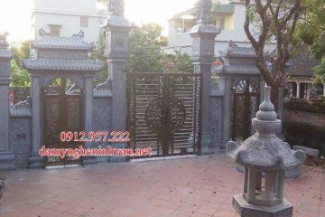 Cổng đá Hưng Yên - Làm cổng chùa cổng làng cổng đình cổng đền tại Hưng Yên