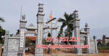 Cổng đá Hải Phòng - Xây cổng làng bằng đá tại Hải Phòng, Cổng đình bằng đá Hải Phòng