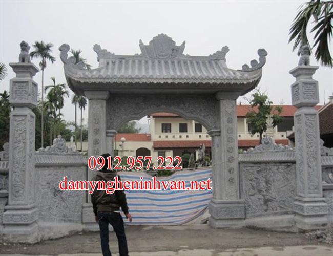 Cổng đá Quảng Ninh – Xây cổng làng, cổng đền, cổng đình bằng đá tại Quảng Ninh