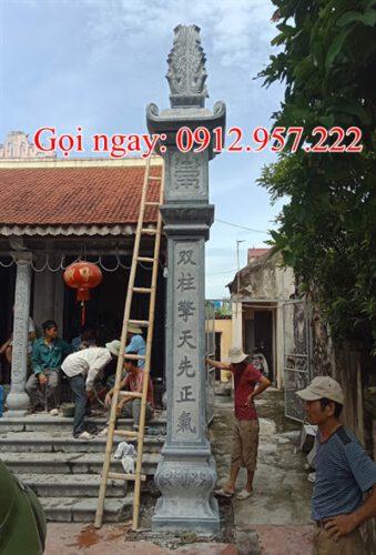 Cột đồng trụ nhà thờ họ CDT14
