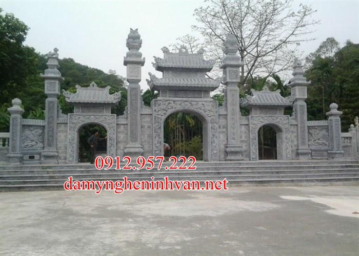 Cổng chùa đẹp bằng đá khối tự nhiên tại Quảng Ninh, Cổng đá quảng Ninh, Cổng chùa đẹp quảng Ninh 11