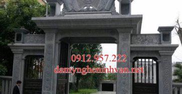Cổng đá VĨnh Phúc - VP04, Cổng nhà thờ họ bằng đá Vĩnh Phúc, Cổng đền bằng đá