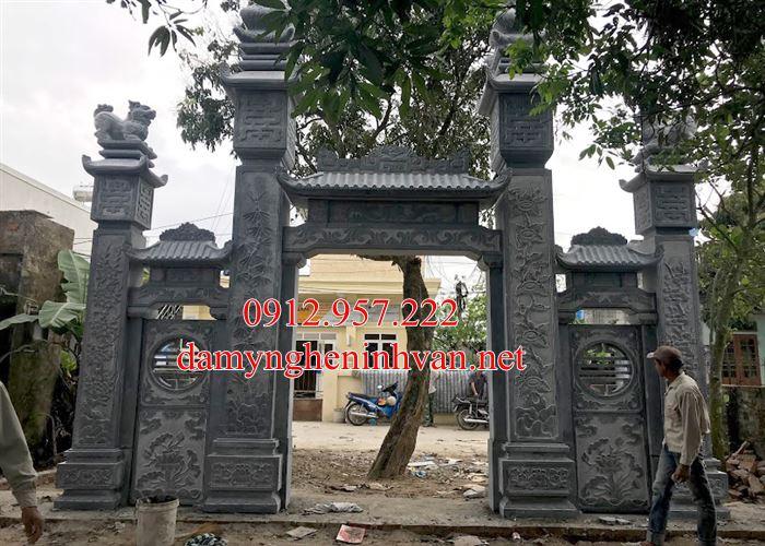 Cổng làng - Cổng làng bằng đá tại Bắc Ninh - BN05, Cổng đá Bắc Ninh