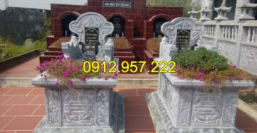 Tìm hiểu về mộ đôi và các mẫu mộ đôi đẹp trong xây dựng mộ phần