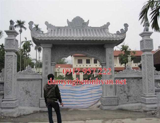 Cổng chùa cổng tam quan chùa bằng đá tại Bắc Ninh- BN07, Cổng đá Bắc Ninh