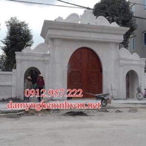 Địa chỉ xây cổng làng bằng đá đẹp tại Ninh Vân - Ninh Bình