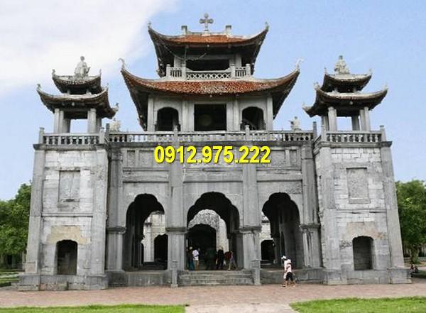 Cổng nhà thờ Đá Phát Diệm - Nam Định