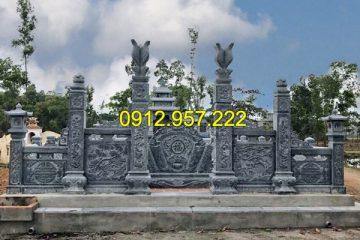 Top 10 mẫu cột cổng mộ đá đẹp chuẩn phong thủy