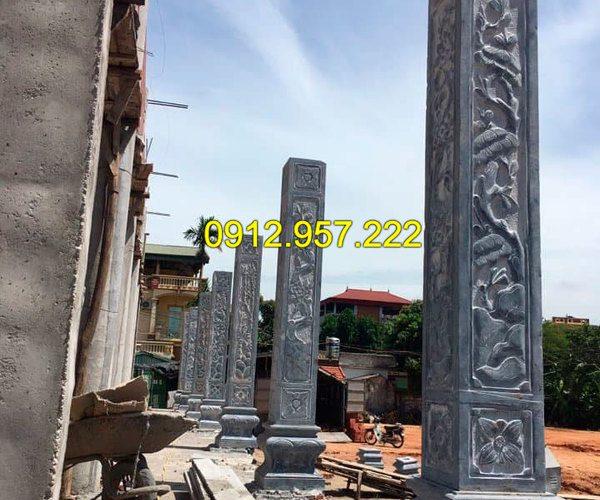 Cột đá - Các mẫu cột đá xanh, cột đá trắng đẹp nhất