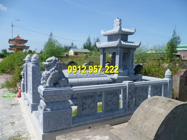 Lăng mộ đá dòng họ được thiết kế và thi công bởi Đá mỹ nghệ Thái Vinh