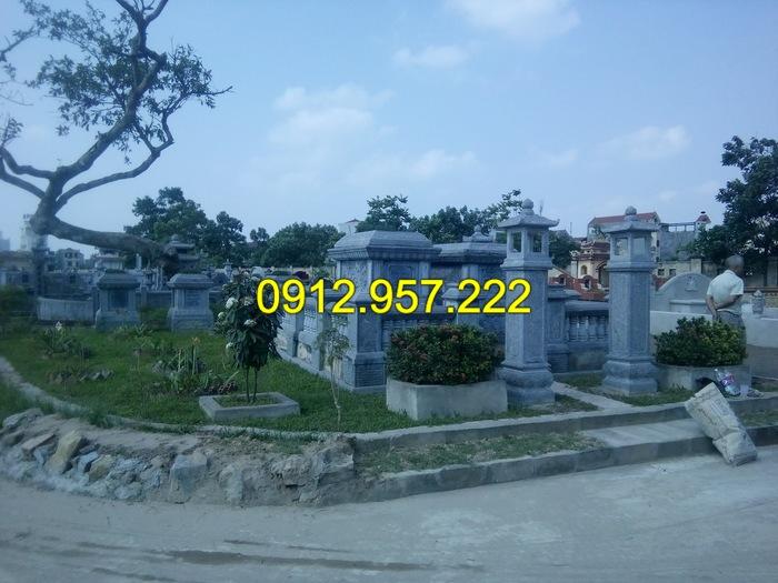 Mẫu mộ bằng đá xanh đẹp nhất