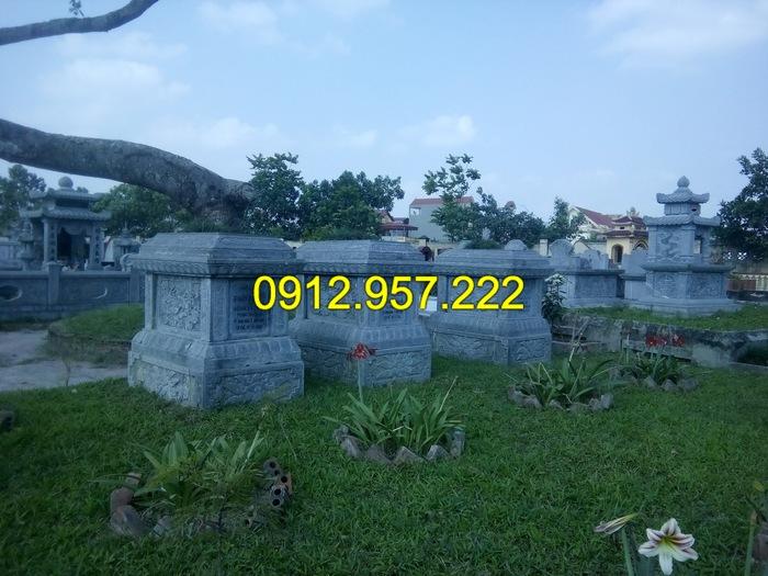 Lựa chọn kiểu mộ đá đẹp để xây khu lăng mộ ý nghĩa cho gia đình