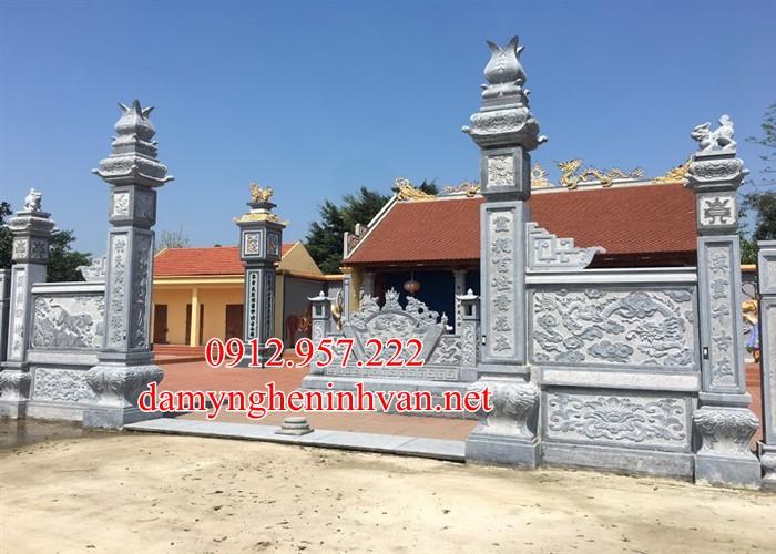 Mẫu cổng đình bằng đá đẹp tại Quảng Ninh -QN01, Cổng đình bằng đá tại Quảng Ninh , cổng đá quảng Ninh