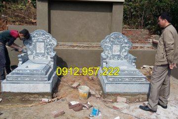 Kinh nghiệm xây mẫu mộ đơn giản mà đẹp tại đá mỹ nghệ Ninh Vân