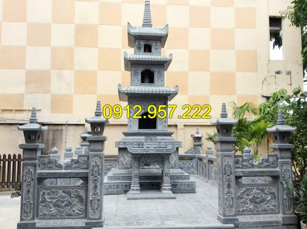 Mẫu tháp mộ – Các mẫu mộ đá tháp Phật giáo đẹp nhất Việt Nam