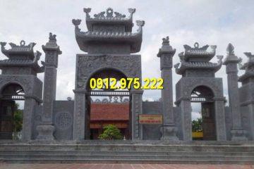 Thi công Sản phẩm cổng đình, chùa, nhà thờ họ bằng đá tại Đà Nẵng