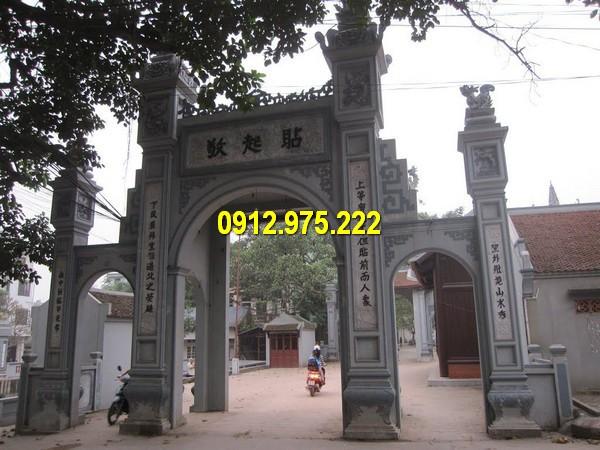 Mẫu cổng đá đẹp được thiết kế bởi Đá mỹ nghệ Thái Vinh