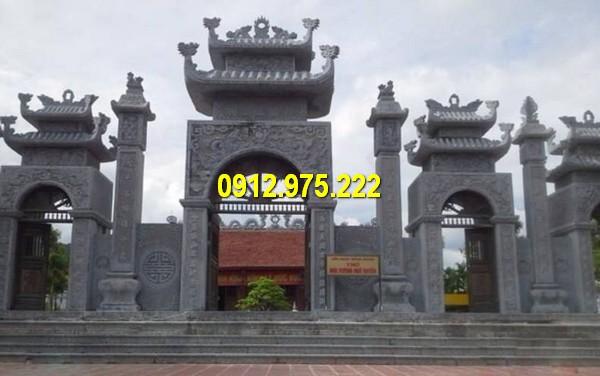 Cổng chùa bằng đá đẹp nhất tại Đà Nẵng