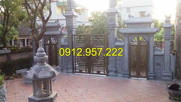Thi công lắp đặt cổng chùa bằng đá tại Đồng Tháp, Bình Thuận, An Giang
