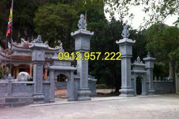 Top 10 mẫu trụ biểu đình chùa đẹp nhất chế tác bởi nghệ nhân đá Ninh Bình