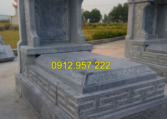 Hướng dẫn xây mộ tam cấp đẹp, đơn giản, dễ thực hiện