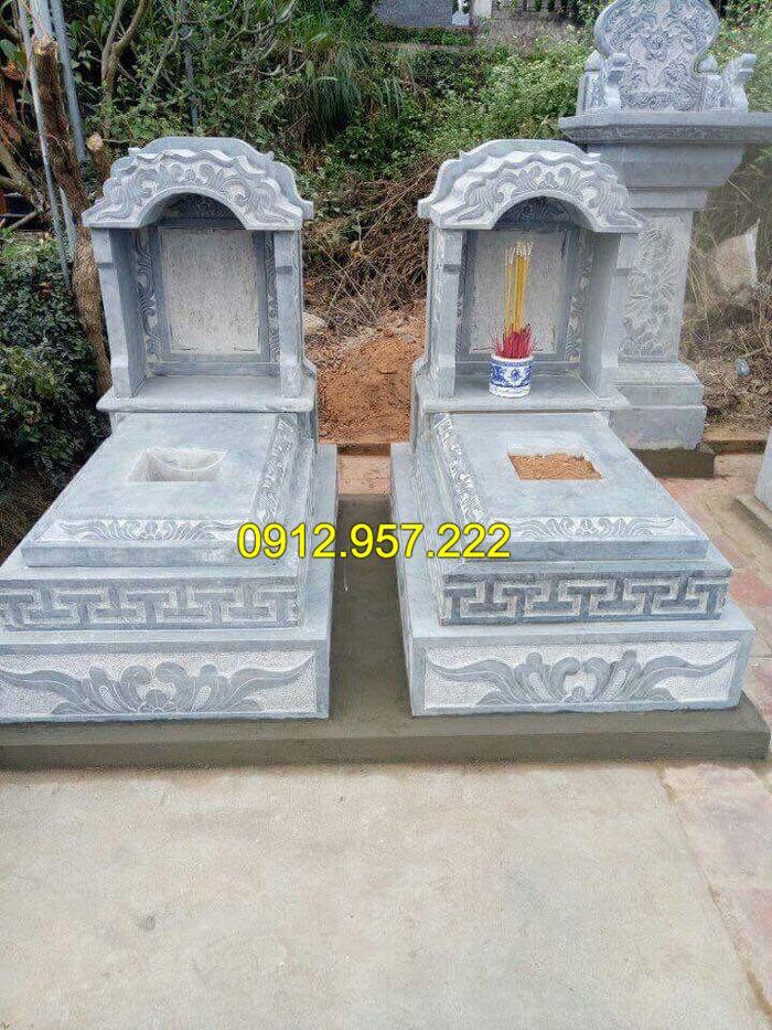 Mẫu mộ tam cấp bằng đá đẹp