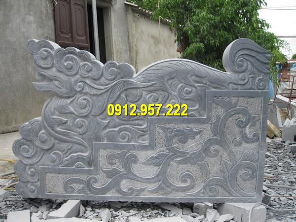 Đá mỹ nghệ Thái Vinh báo giá tượng rồng đá bậc thềm bằng đá xanh Ninh Bình