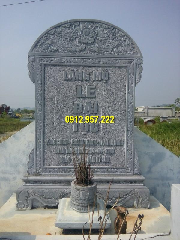 Bia mộ đá Hà Nội chất lượng cao