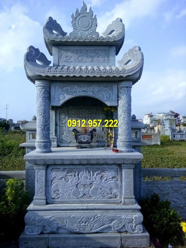 Mẫu mộ đá hai mái đẹp nhất Việt Nam