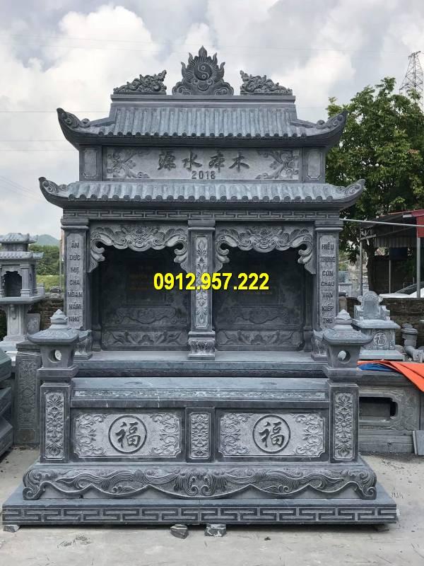 Hình ảnh lăng thờ đá khu mộ dòng họ