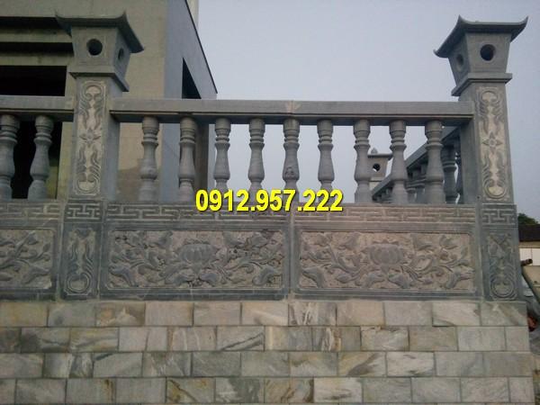Lan cầu thang bằng đá