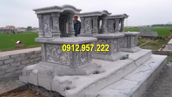 Mộ vòm bằng đá chuẩn phong thuỷ