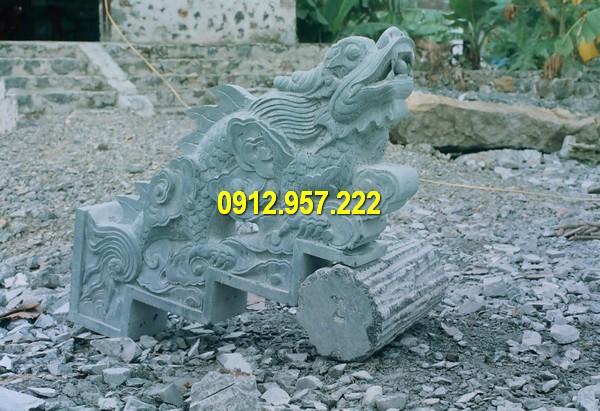 Mẫu thiết kế rồng đá phong thuỷ đẹp