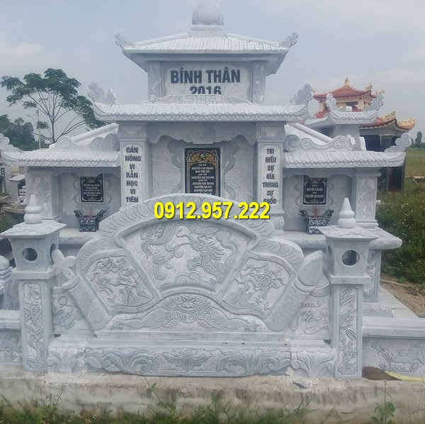 Địa chỉ thi công lăng mộ đá ở Hà Nội, Ninh Bình, Đà Nẵng, Tp. HCM