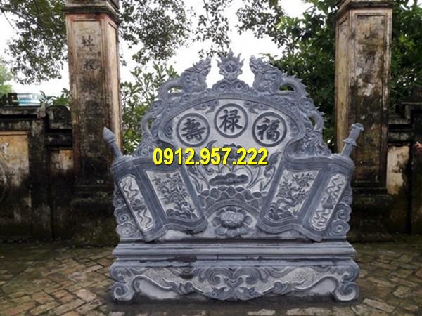 Bức bình phong lăng mộ, bình phong lăng mộ