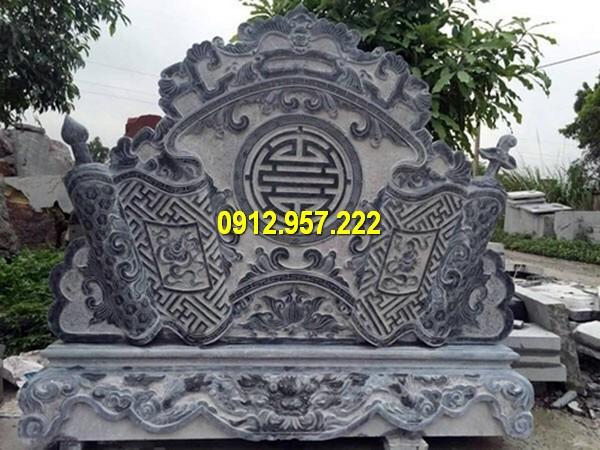 Mẫu bình phong bằng đá tự nhiên cao cấp của Đá mỹ nghệ Thái Vinh