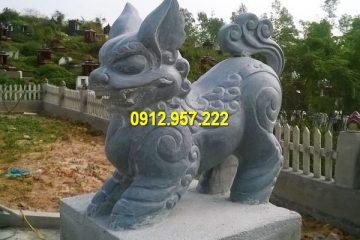 Tượng nghê đá phong thuỷ là một con vật tâm linh thuần Việt