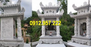 Hình ảnh lăng mộ đẹp bằng đá tự nhiên Ninh Vân Ninh Bình