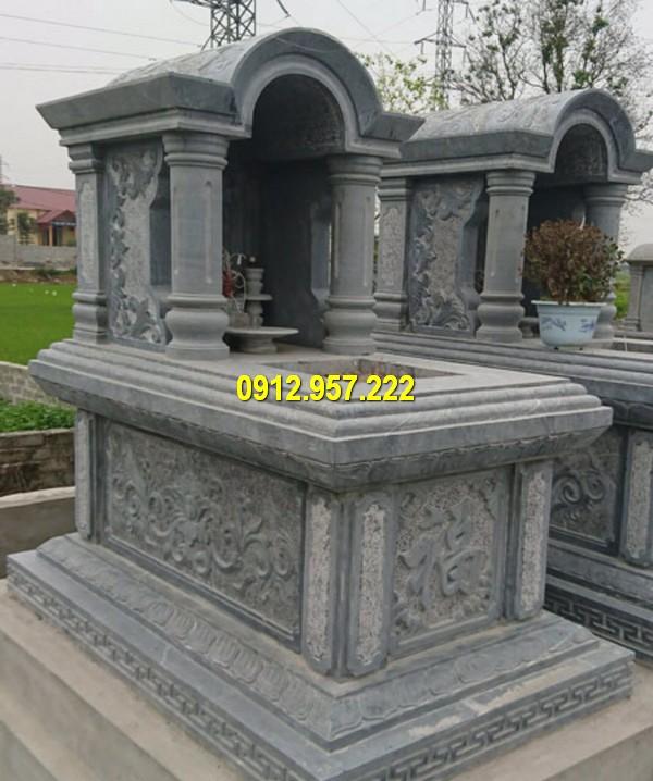 Mẫu mộ đá một mái đang được ưa chuộng