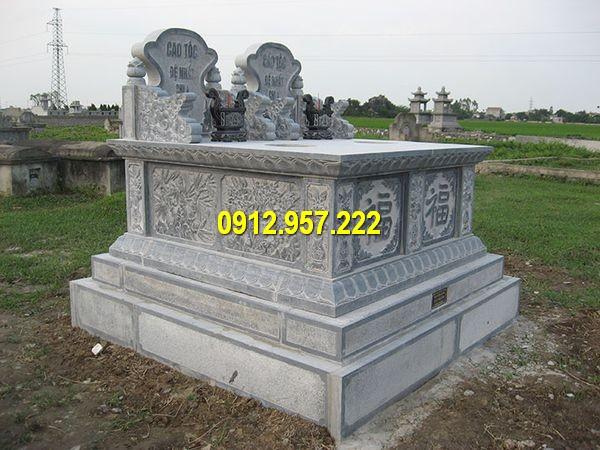 Mộ tam sơn bằng đá đẹp nhất Việt Nam